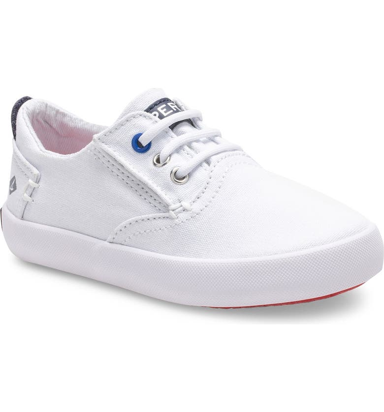 SPERRY Bodie Washable Lace-Up Sneaker, Main, color, WHITE