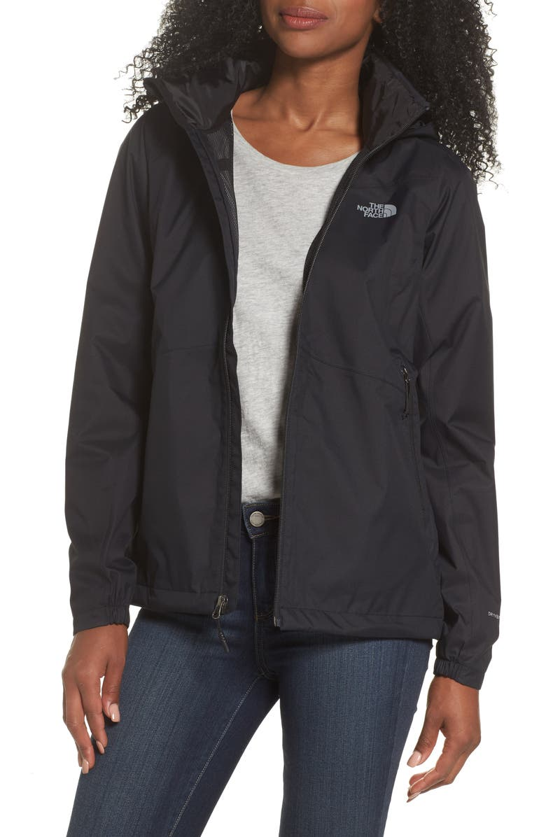 THE NORTH FACE Resolve Plus Waterproof Jacket, Main, color, 002