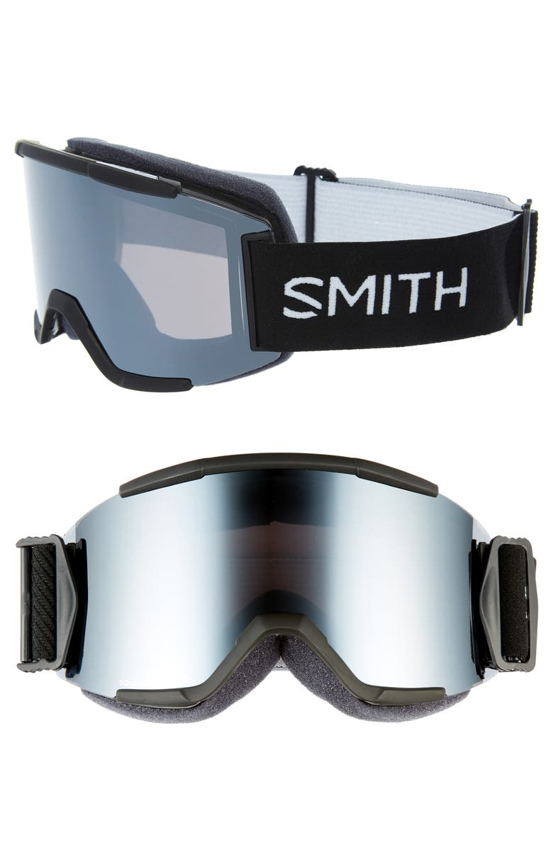 SMITH Squad 180mm Special Fit Snow Goggles, Main, color, 001