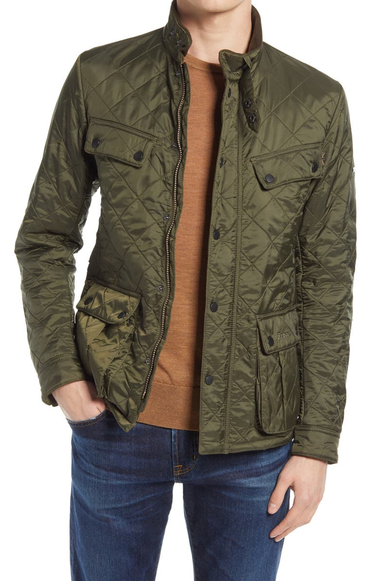 BARBOUR Ariel Polar Quilted Jacket, Main, color, 340