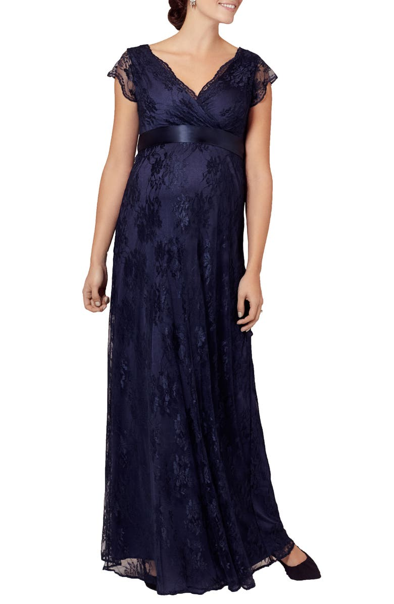 TIFFANY ROSE Eden Lace Maternity Gown, Main, color, ARABIAN NIGHTS