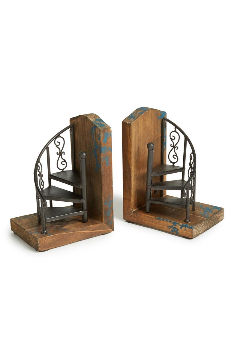 IMPORT COLLECTION 'Marris' Bookends, Main, color, Brown
