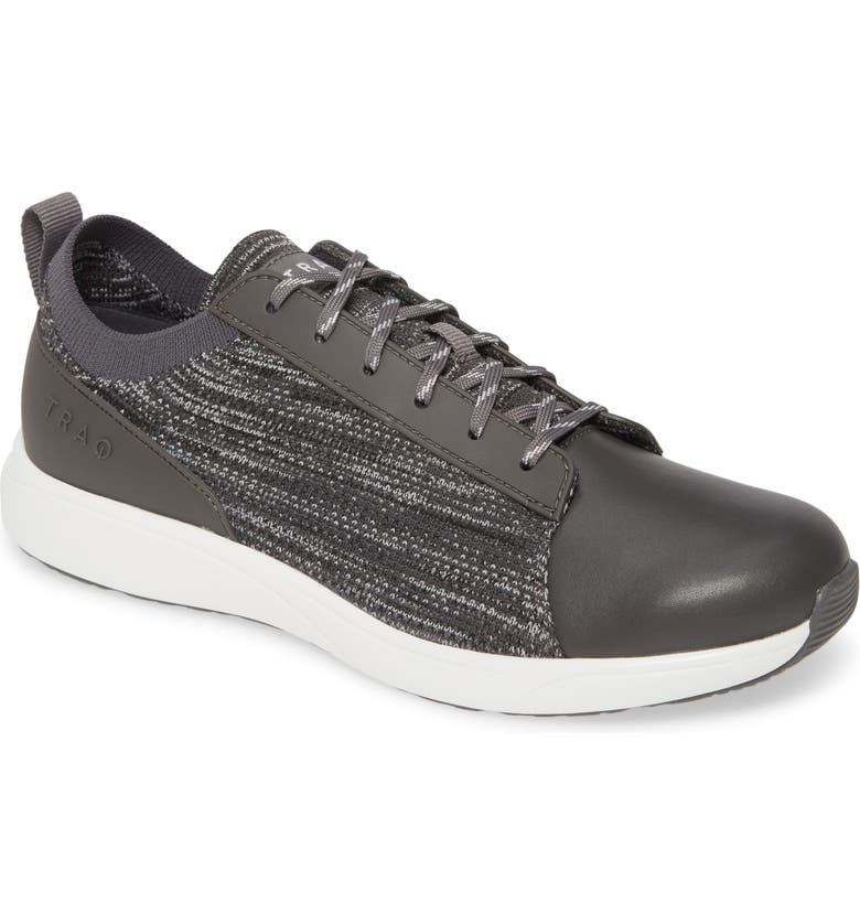 TRAQ BY ALEGRIA Qest Sneaker, Main, color, CHARCOAL