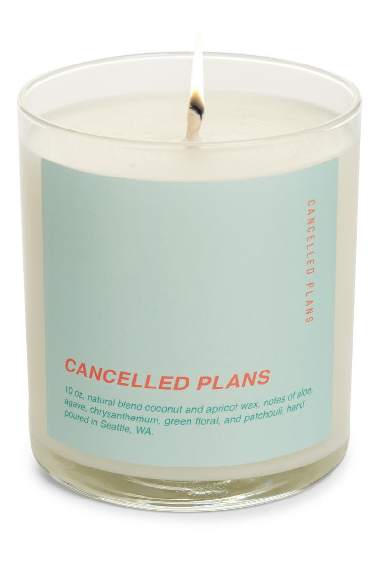 CANCELLED PLANS Cancelled Plans Candle, Main, color, 400