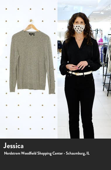 Donegal Crew Cashmere Sweater, sales video thumbnail