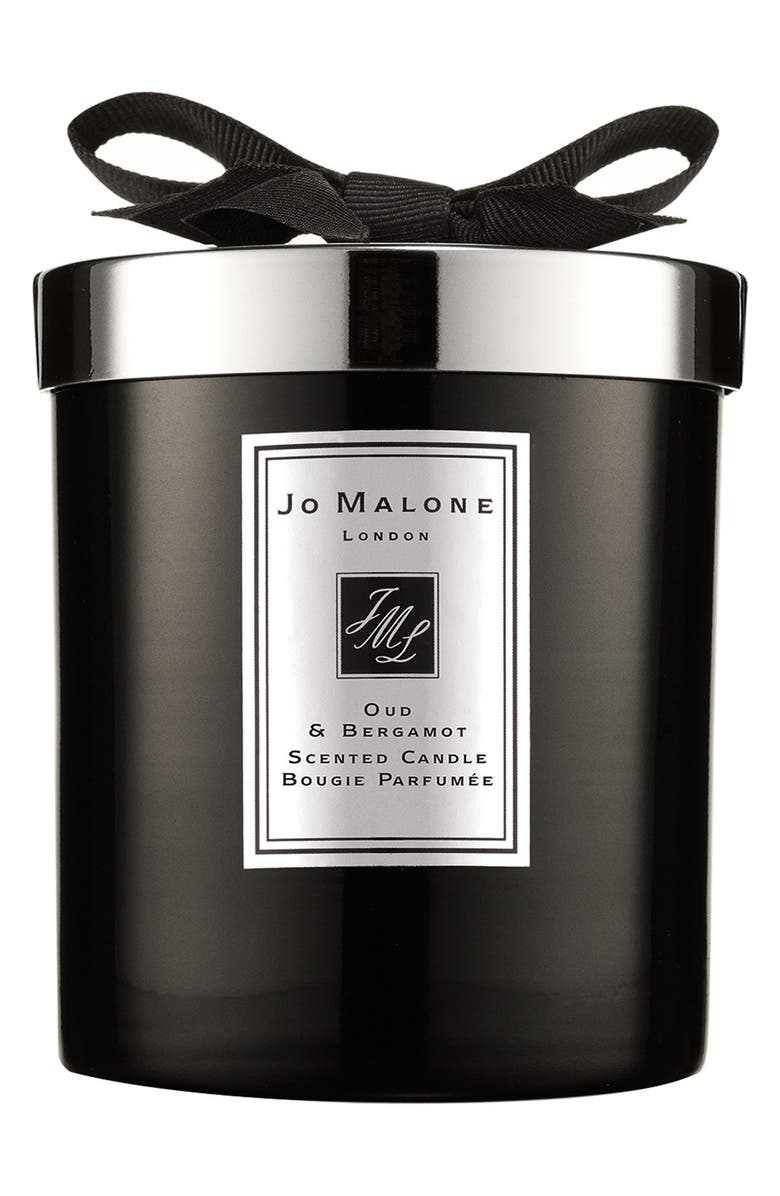 JO MALONE LONDON<SUP>™</SUP> Oud & Bergamot Scented Home Candle, Main, color, NO COLOR