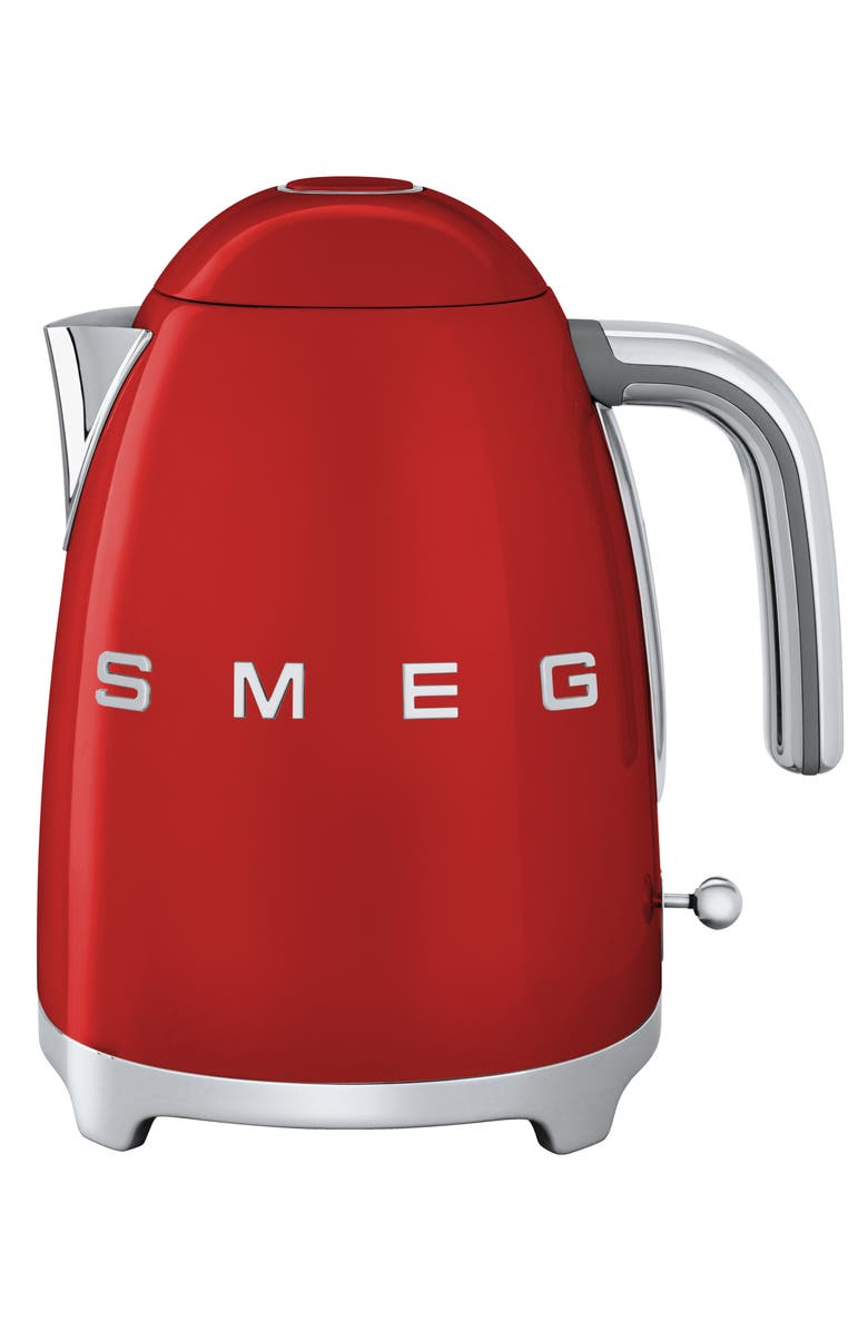 SMEG '50s Retro Style Electric Kettle, Main, color, RED