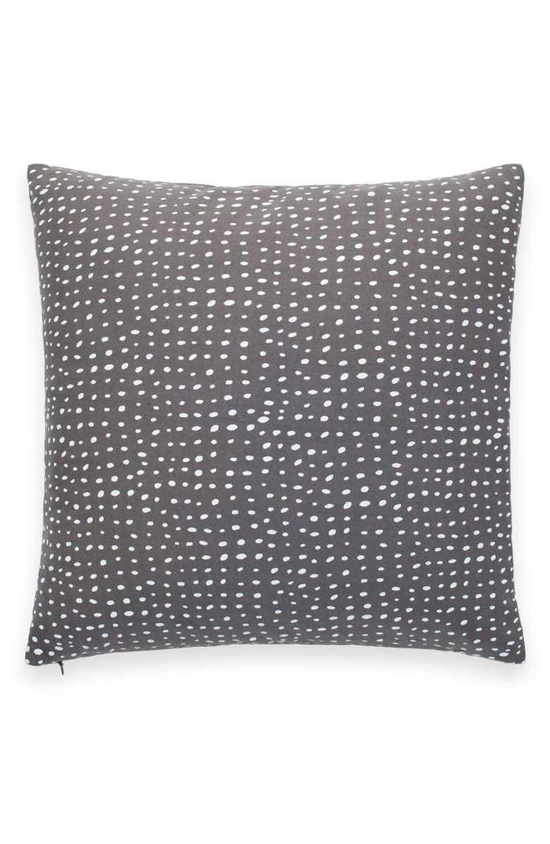 KATE SPADE NEW YORK dot spot accent pillow, Main, color, 020