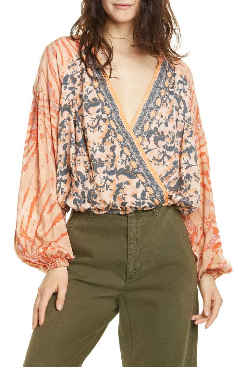 FREE PEOPLE Cruisin' Together Print Top, Main, color, 111