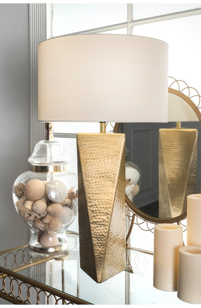 """NULOOM 24"""" Lina Table Lamp, Main, color, BRASS"""