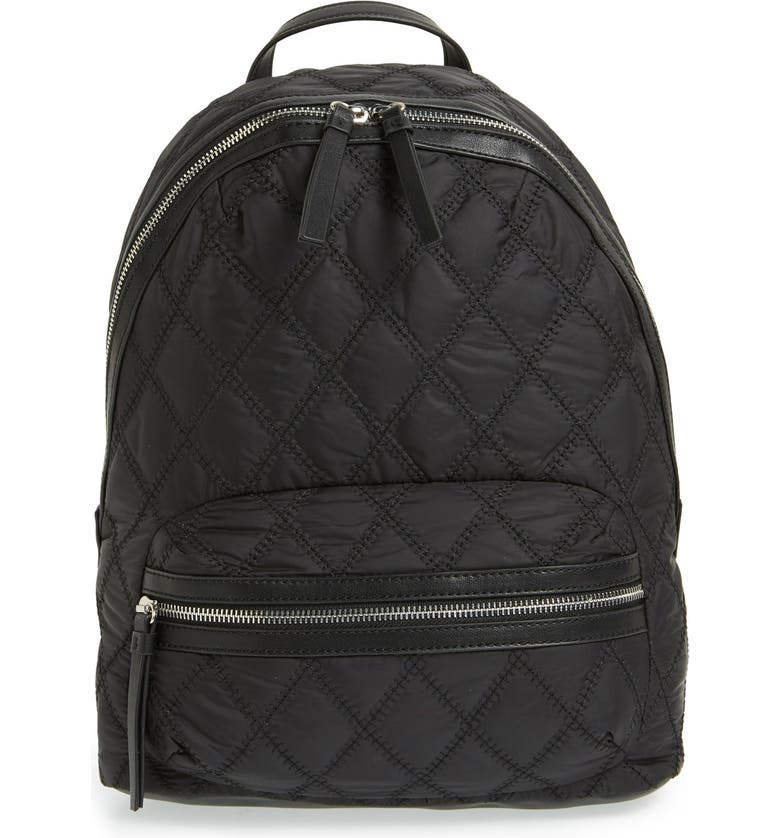 PHASE 3 Quilted Backpack, Main, color, 001