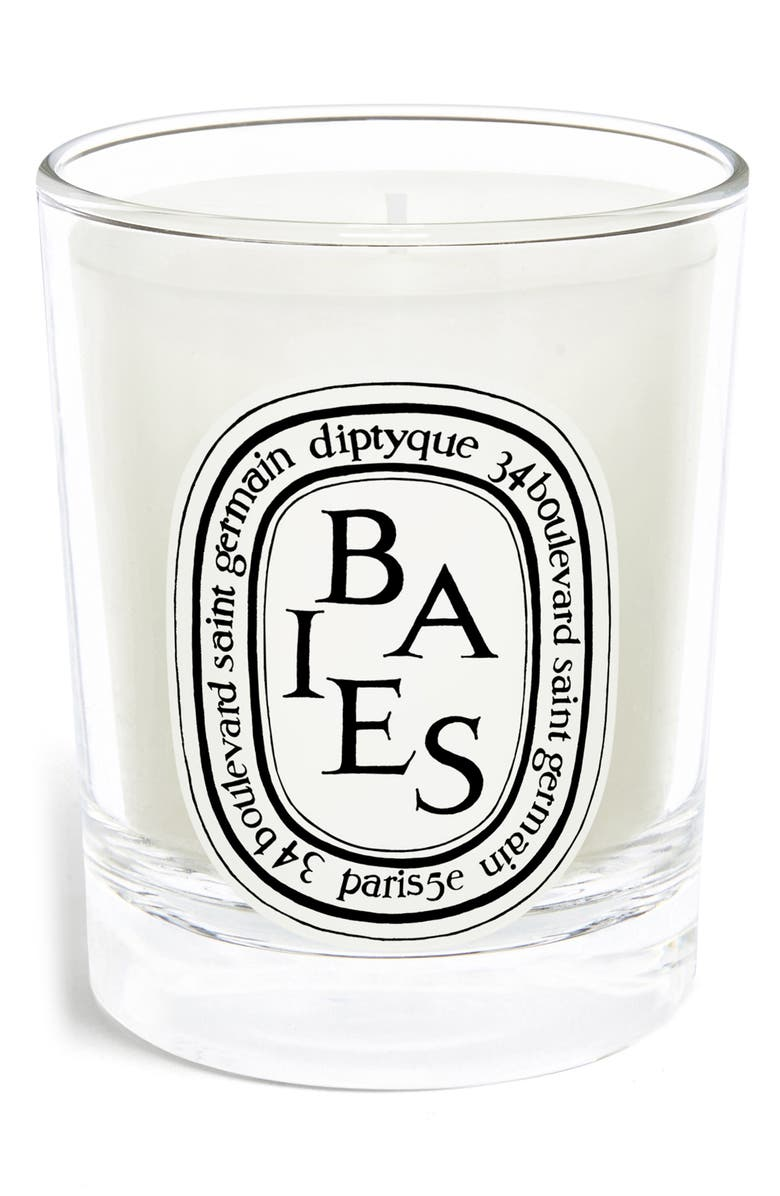 DIPTYQUE Baies/Berries Candle, Main, color, CLEAR VESSEL