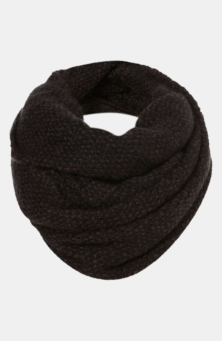 TOPSHOP Marled Sweater Infinity Scarf, Main, color, 021