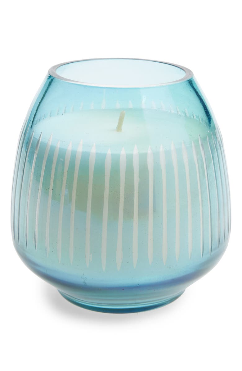 ANTHROPOLOGIE HOME Small Amber Luster Candle, Main, color, 450