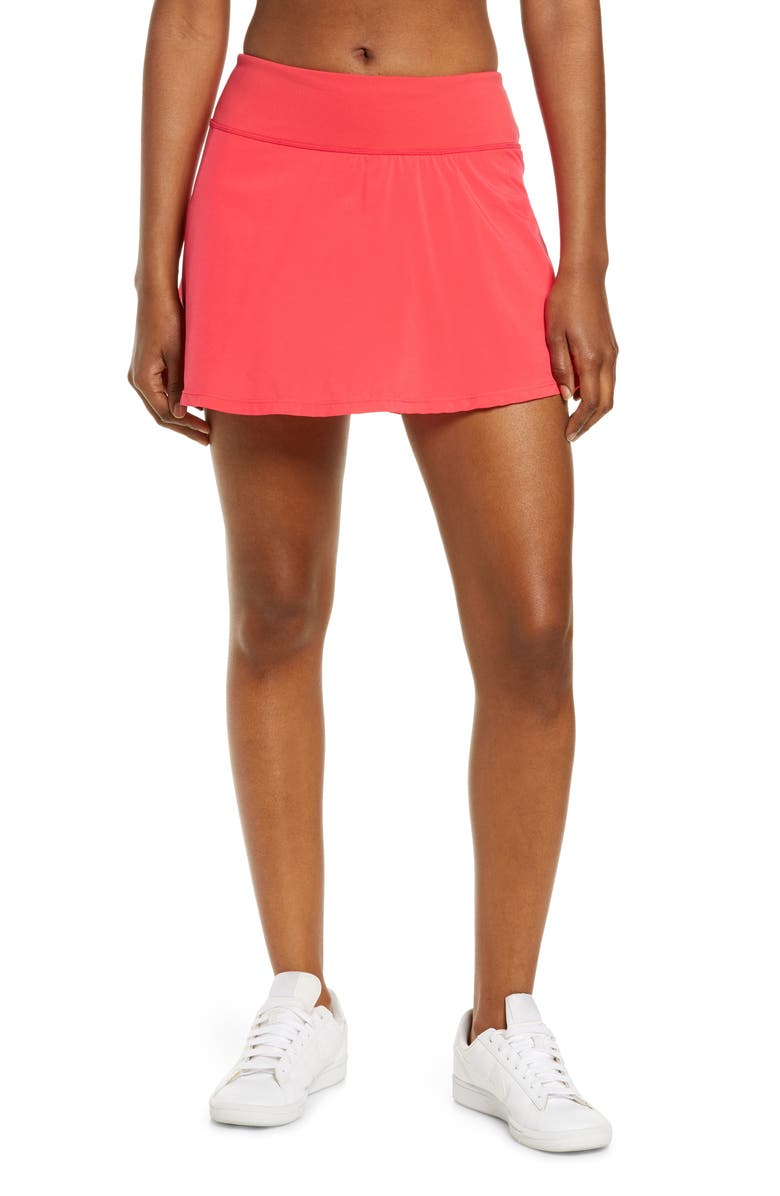 ZELLA Suns Out Skort, Main, color, PINK PARADISE