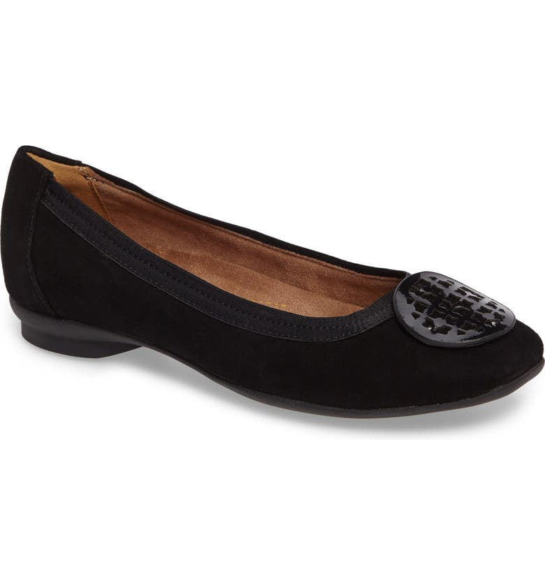 CLARKS<SUP>®</SUP> 'Candra Blush' Flat, Main, color, 007