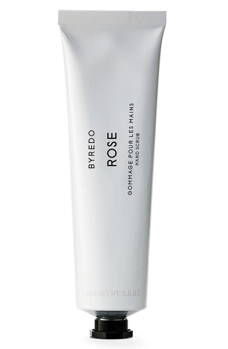 BYREDO Rose Hand Scrub, Main, color, No Color