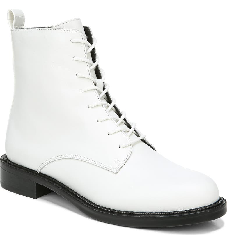 SAM EDELMAN Nina Lace-Up Boot, Main, color, BRIGHT WHITE LEATHER