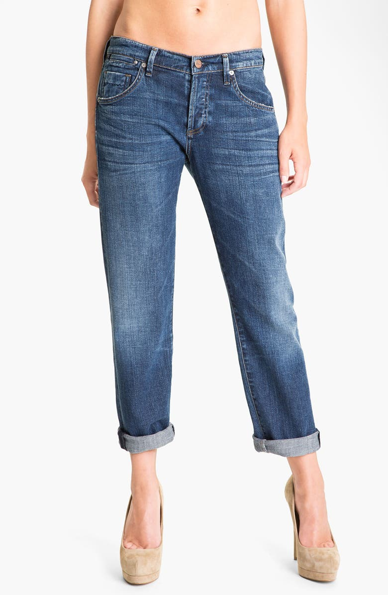 CITIZENS OF HUMANITY 'Dylan' High Rise Loose Fit Jeans, Main, color, FOREVER