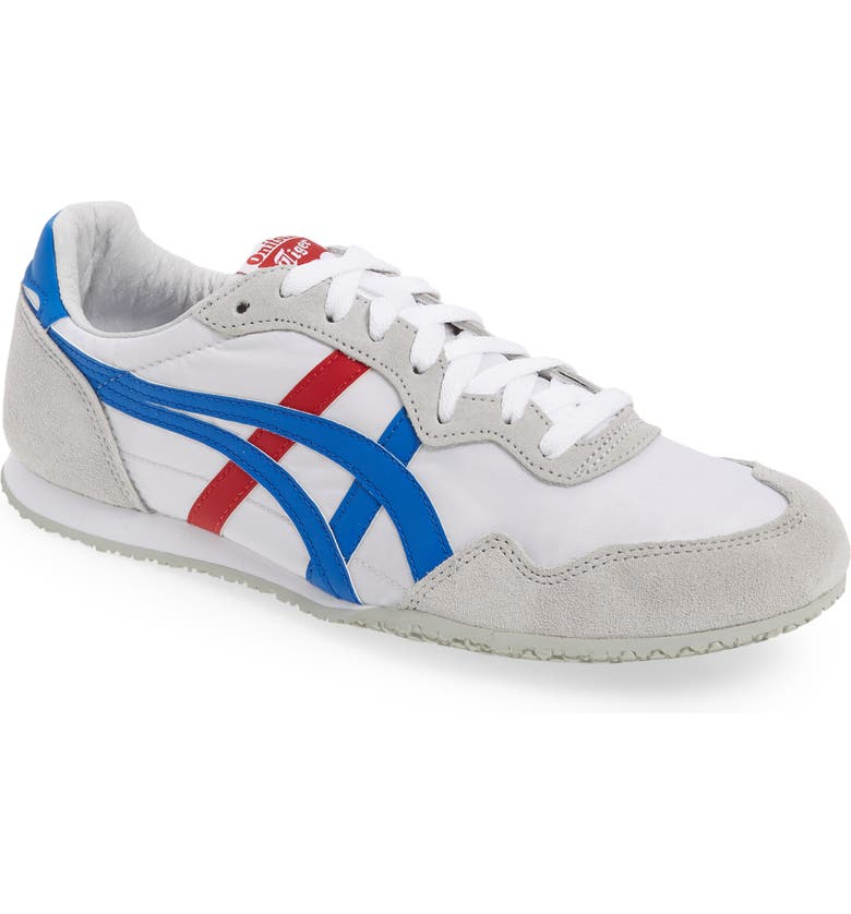 ONITSUKA TIGER<SUP>™</SUP> 'Serrano' Sneaker, Main, color, WHITE/ BLUE/ BLUE