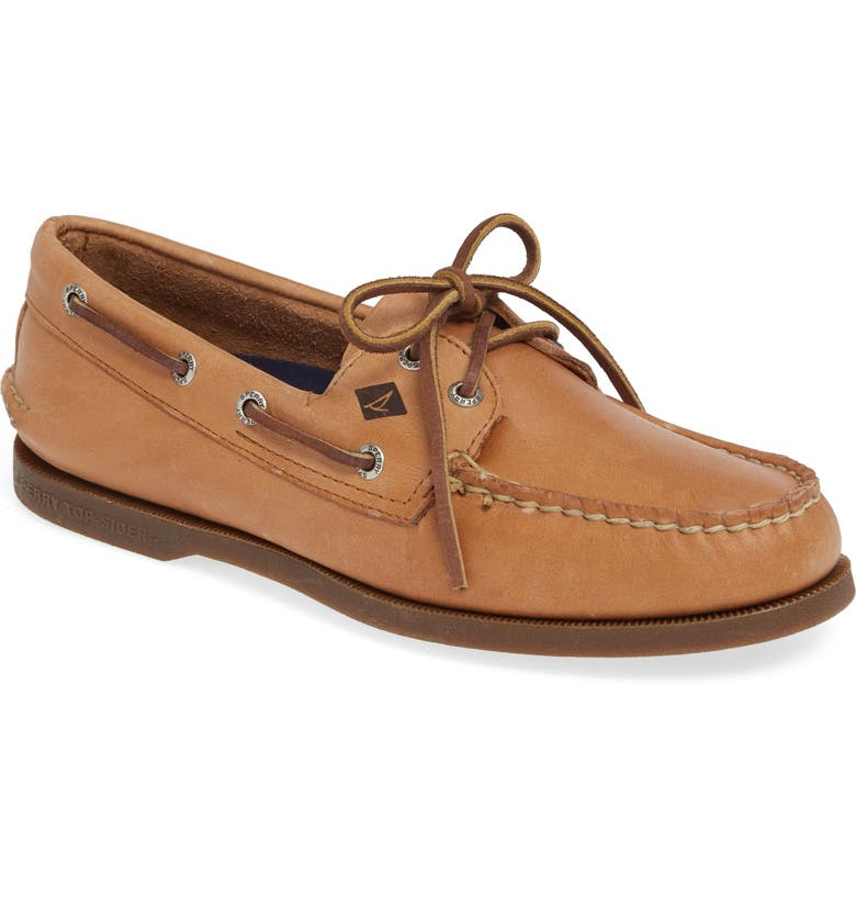 SPERRY 'Authentic Original' Boat Shoe, Main, color, NUTMEG