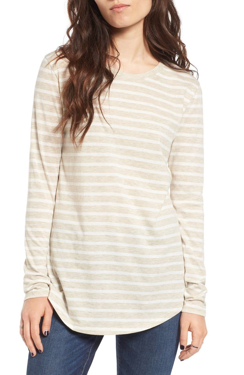 BP. Stripe Crewneck Tee, Main, color, 260