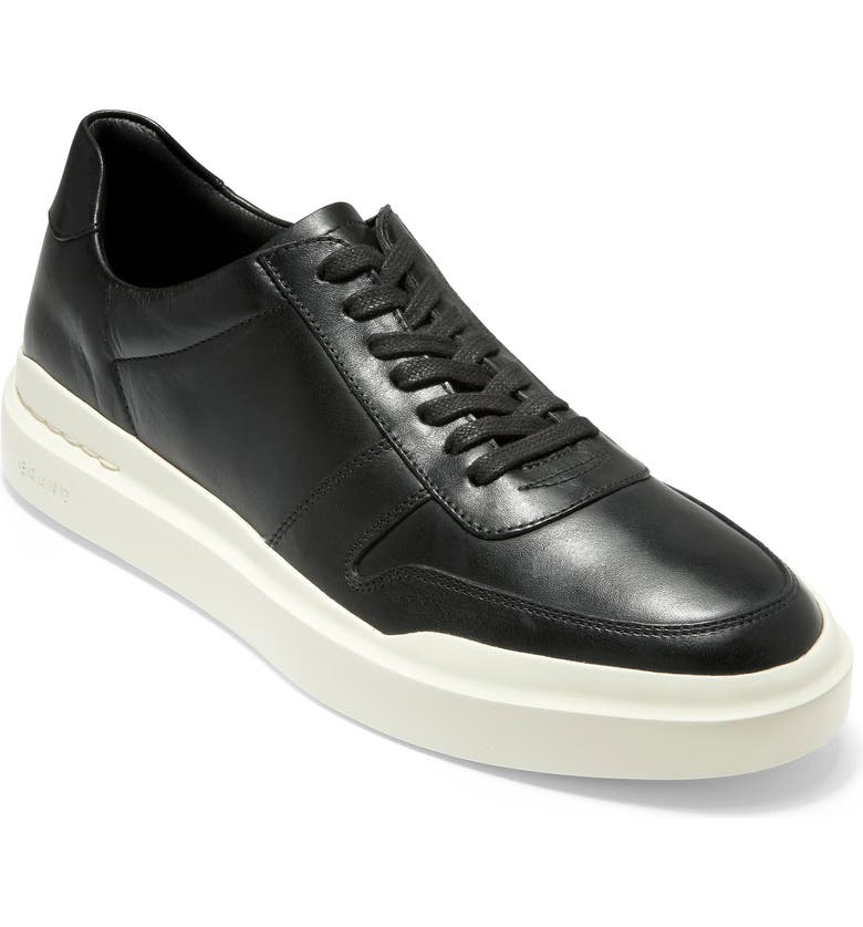 COLE HAAN GrandPro Rally Court Sneaker, Main, color, BLACK / WHITE