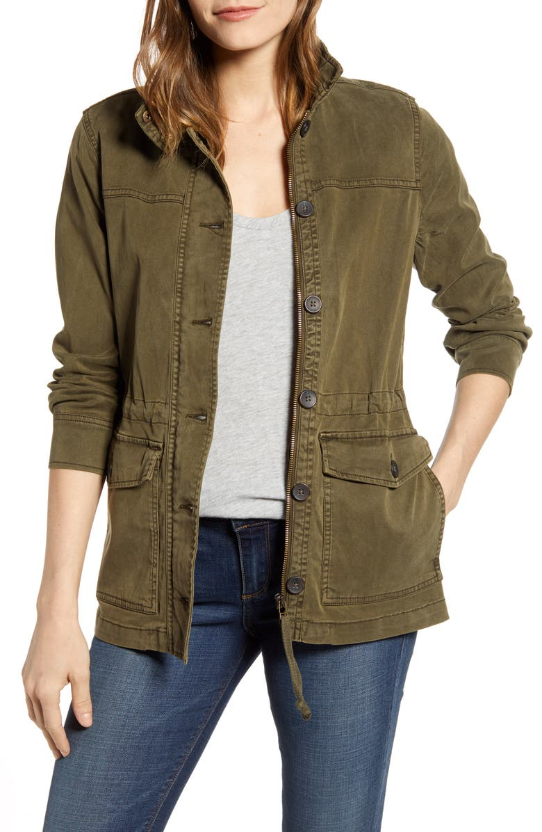 LUCKY BRAND Utility Jacket, Main, color, 300