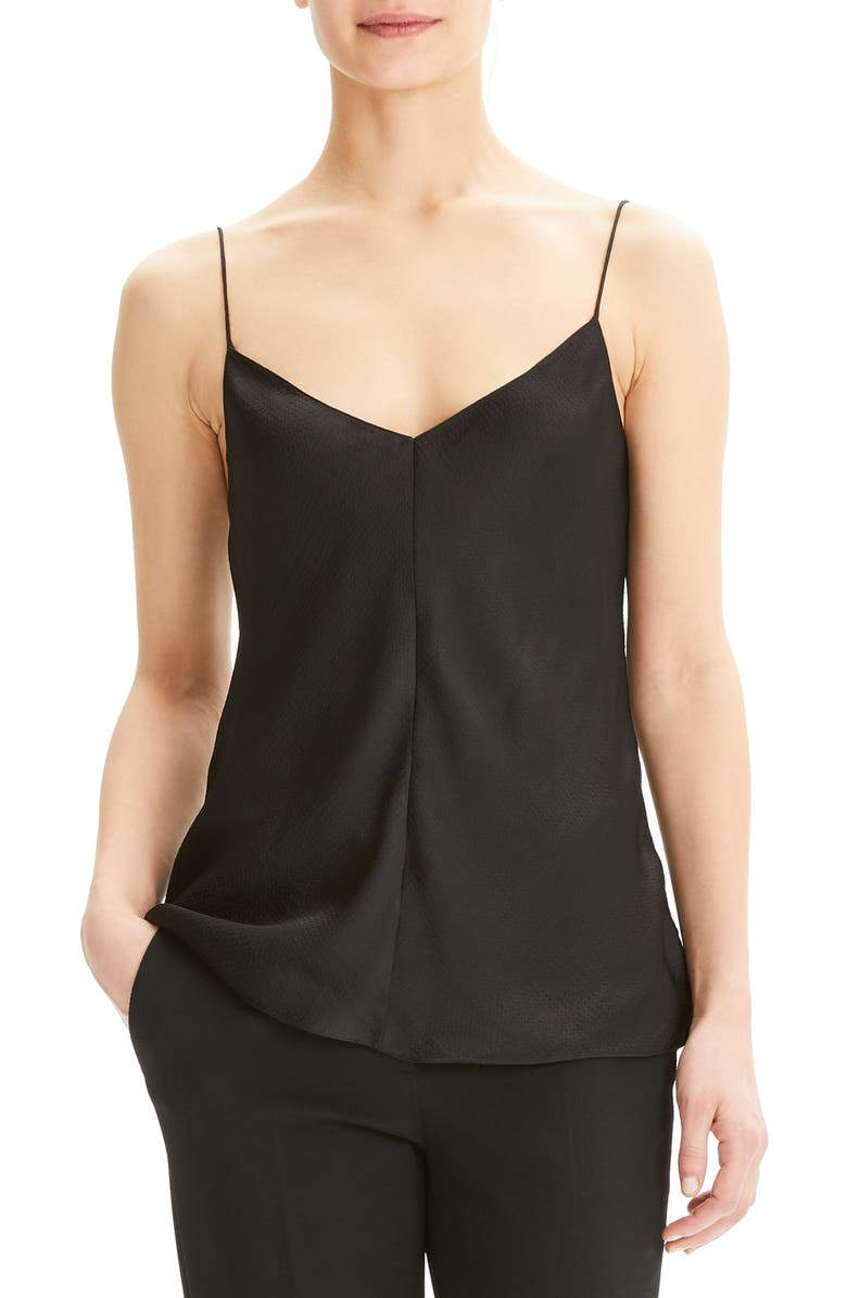 THEORY Hammer Camisole Top, Main, color, 001