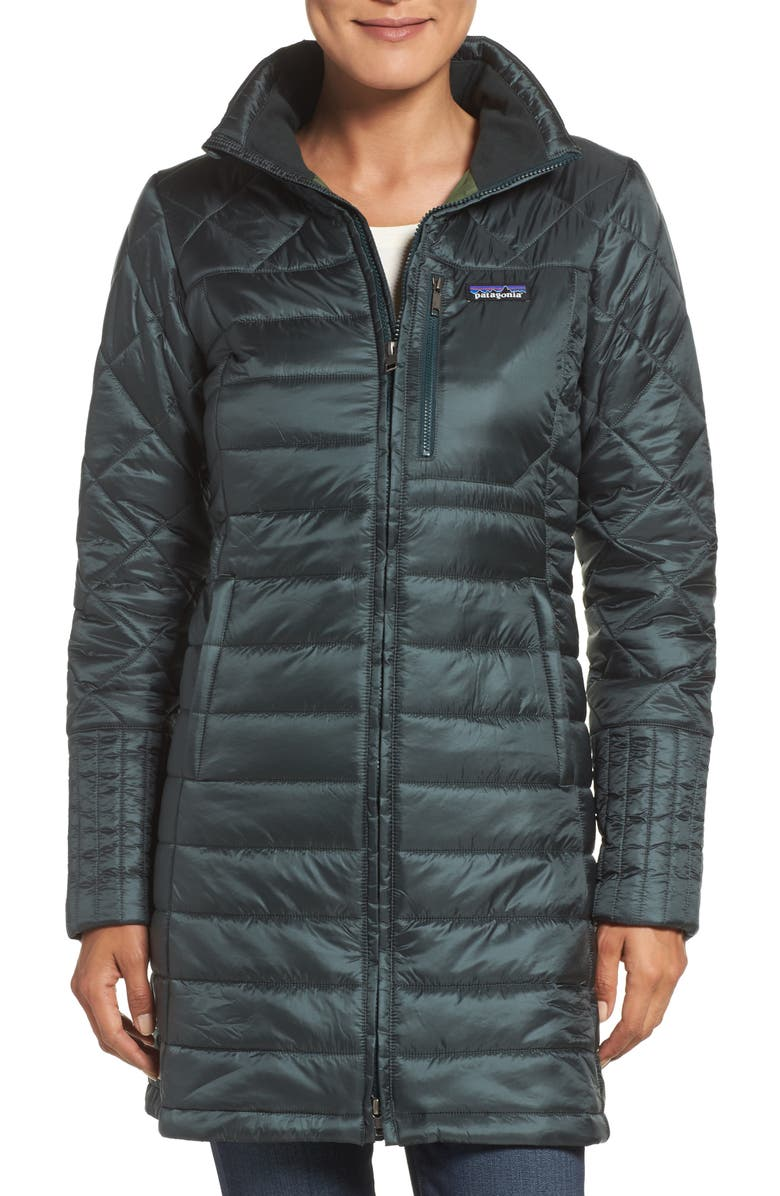 PATAGONIA Radalie Water Repellent Insulated Parka, Main, color, 002