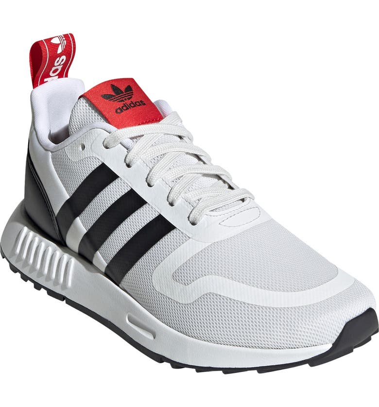 ADIDAS Smooth Runner Sneaker, Main, color, CRYSTAL WHITE/ CORE BLACK