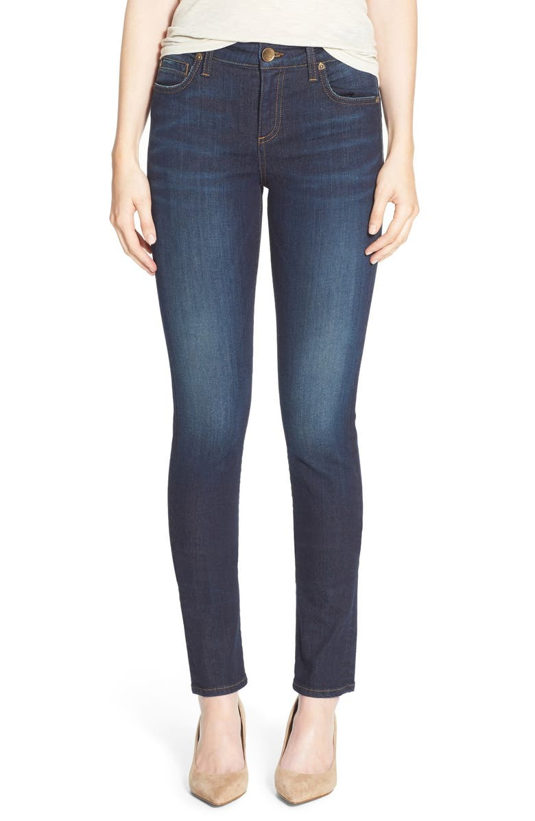 KUT FROM THE KLOTH 'Diana' Stretch Skinny Jeans, Main, color, 920
