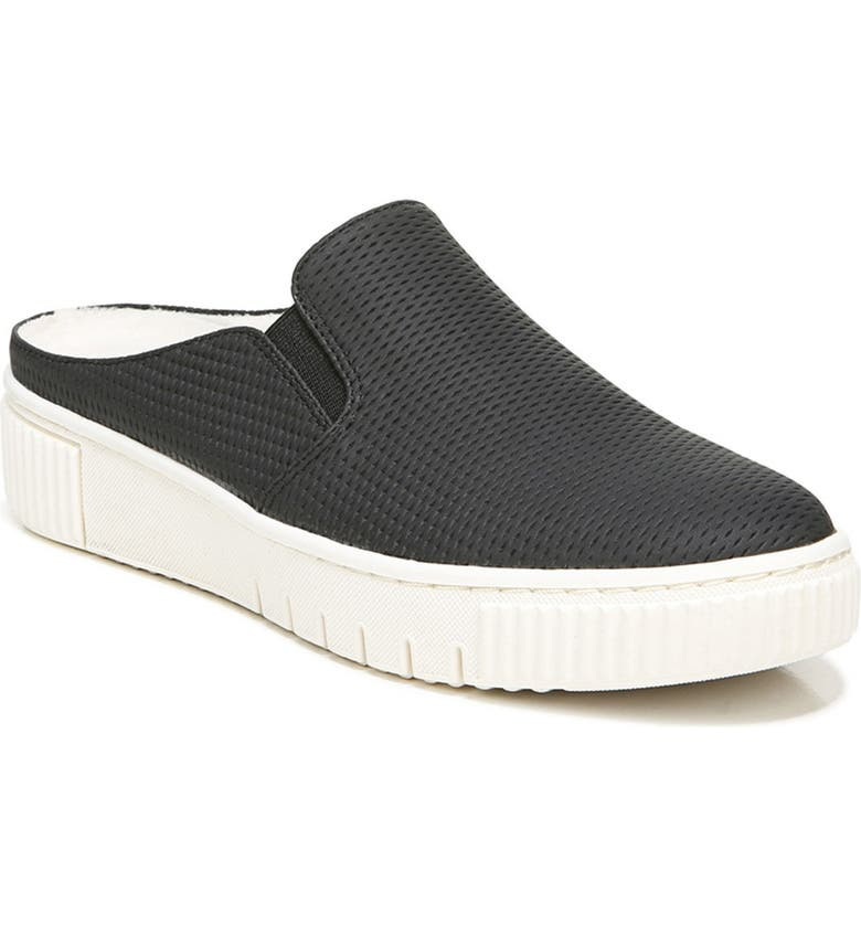 SOUL NATURALIZER Truly Sneaker Mule - Wide Width Available, Main, color, BLACK SMOOTH