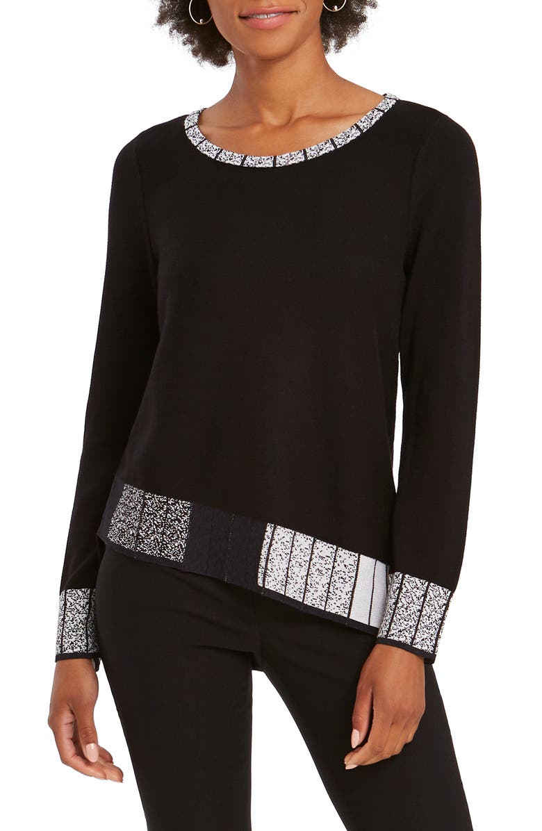 NIC+ZOE Stand Out Sweater, Main, color, 004