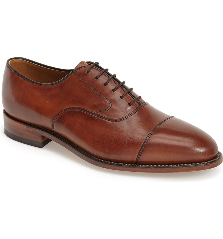 JOHNSTON & MURPHY 'Melton' Oxford, Main, color, TAN
