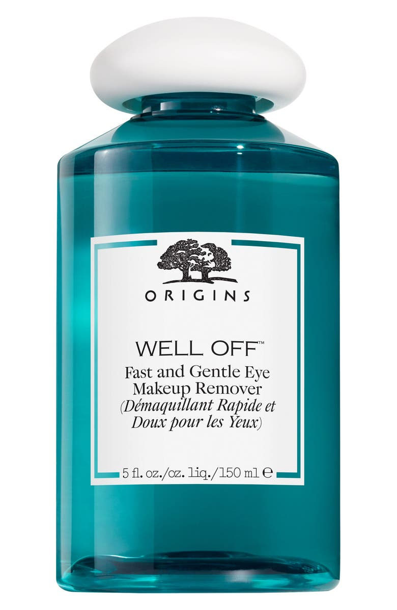 ORIGINS Well Off<sup>®</sup> Fast & Gentle Eye Makeup Remover, Main, color, No Color