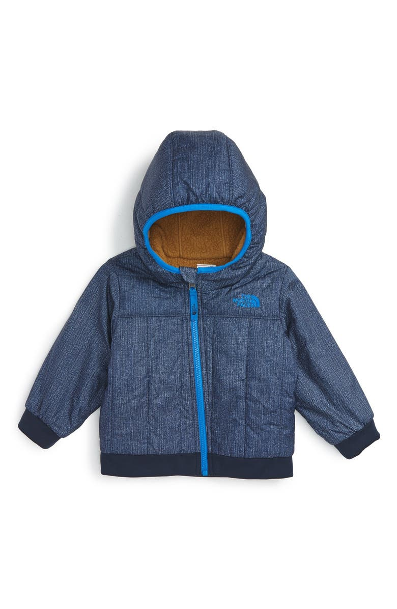 THE NORTH FACE 'Yukon' Heatseeker<sup>™</sup> Insulated Reversible Hooded Jacket, Main, color, 401