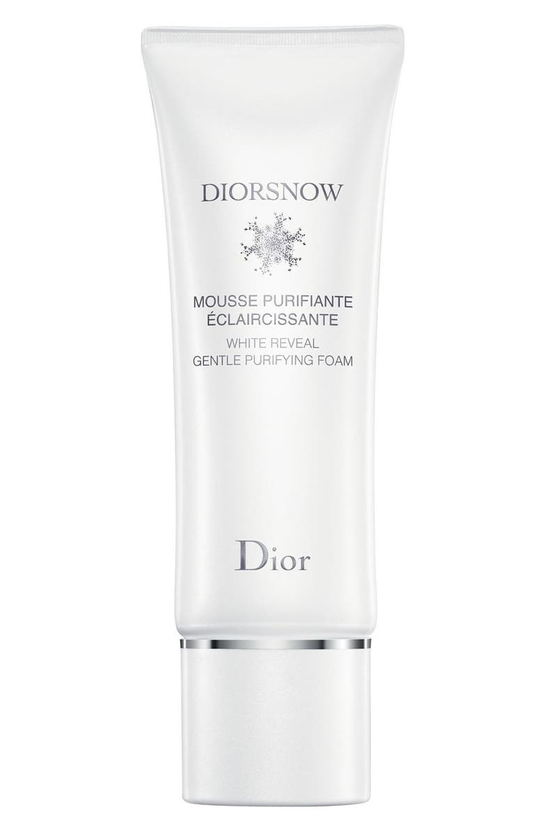 DIOR snow White Reveal Gentle Purifying Foam, Main, color, NO COLOR