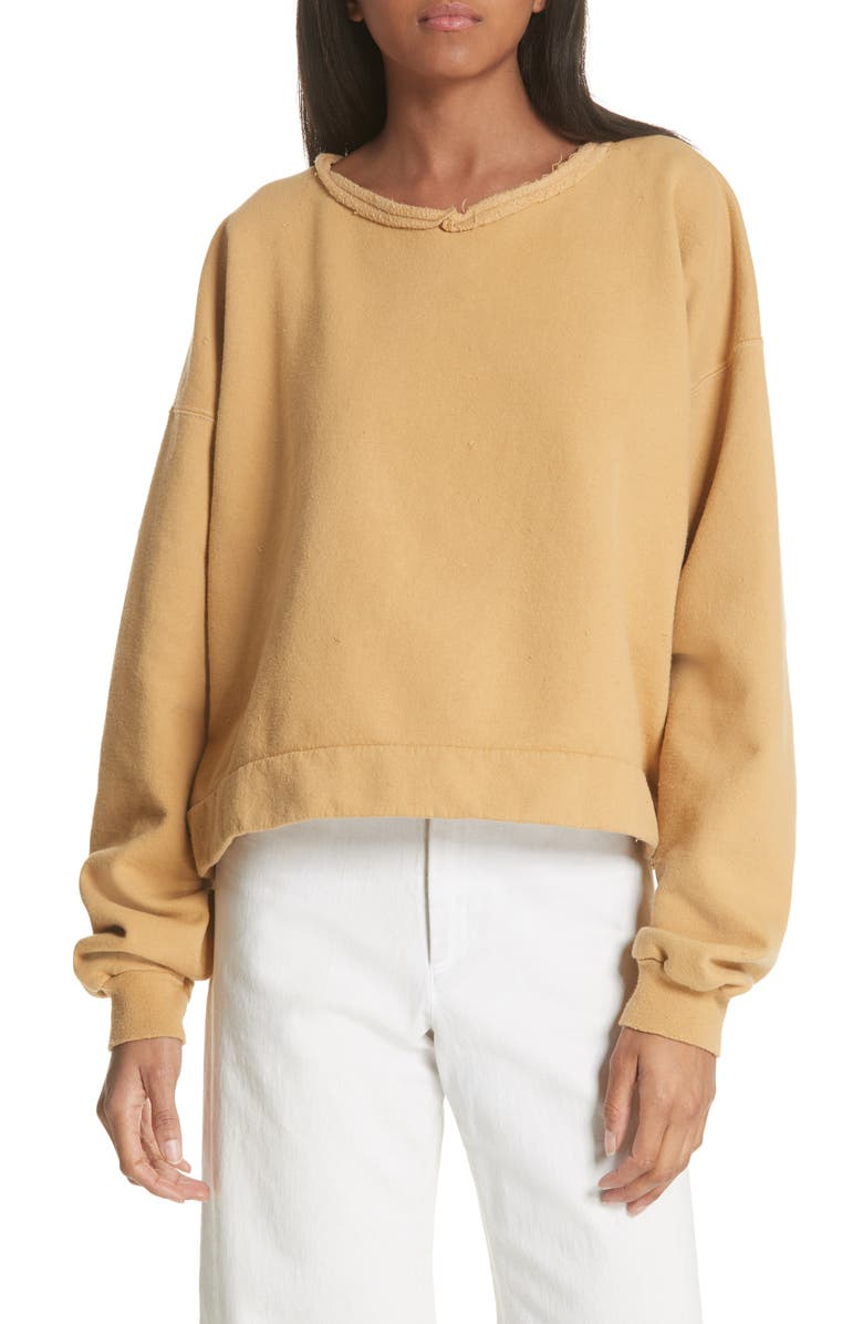 RACHEL COMEY Mingle Distressed Sweatshirt, Main, color, 259