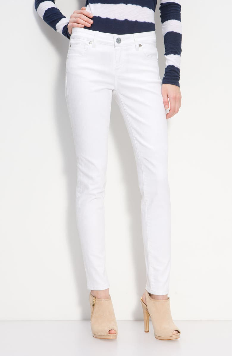 KUT FROM THE KLOTH Skinny Jeans, Main, color, White