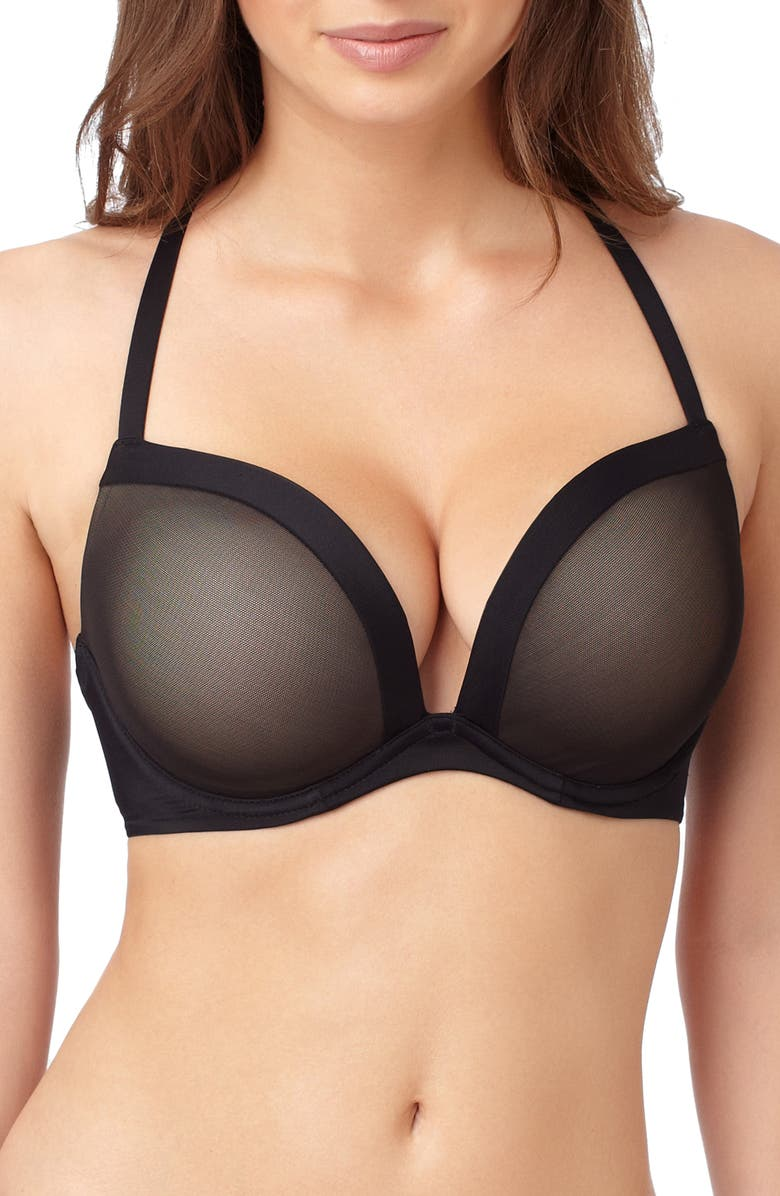 LE MYSTÈRE Infinite Possibilities Convertible Underwire Bra, Main, color, BLACK
