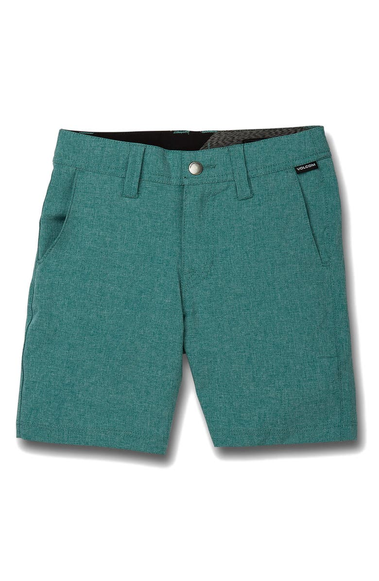 VOLCOM Static Shorts, Main, color, HYDRO BLUE