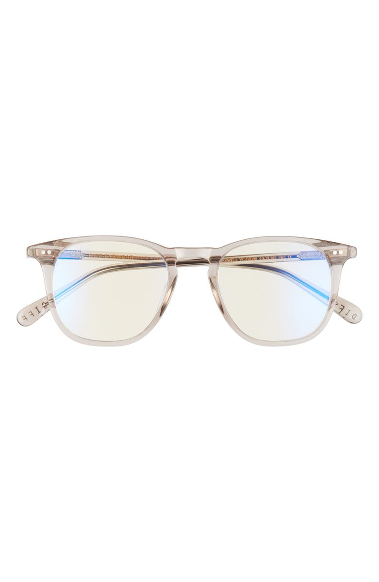 DIFF Maxwell 49mm Optical Glasses, Main, color, VINTAGE CRYSTAL/ CLEAR