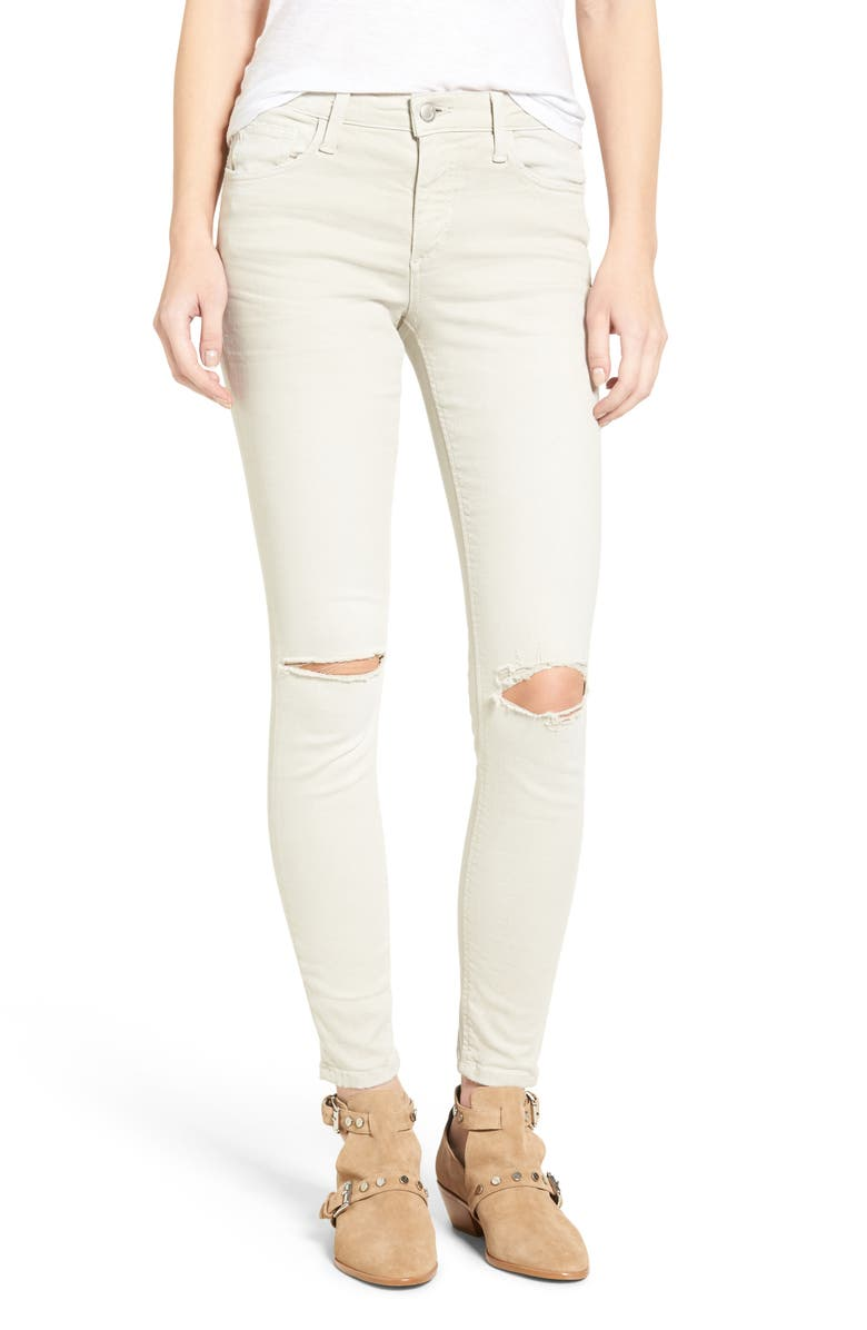 JOE'S Flawless - Icon Ankle Skinny Jeans, Main, color, STONE