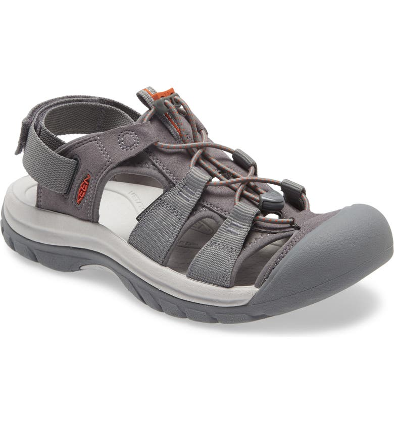 KEEN Rapids H2 Sandal, Main, color, STEEL GREY/ VAPOR