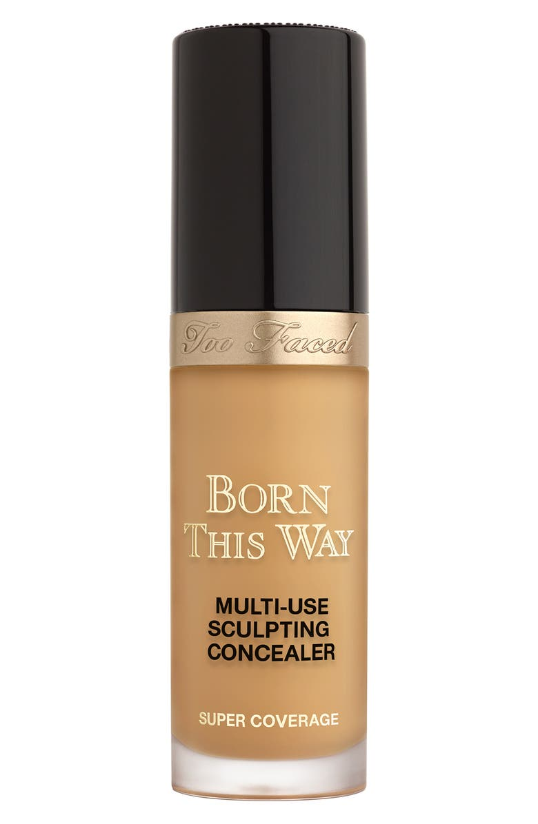 TOO FACED Born This Way Super Coverage Multi-Use Concealer, Main, color, LATTE