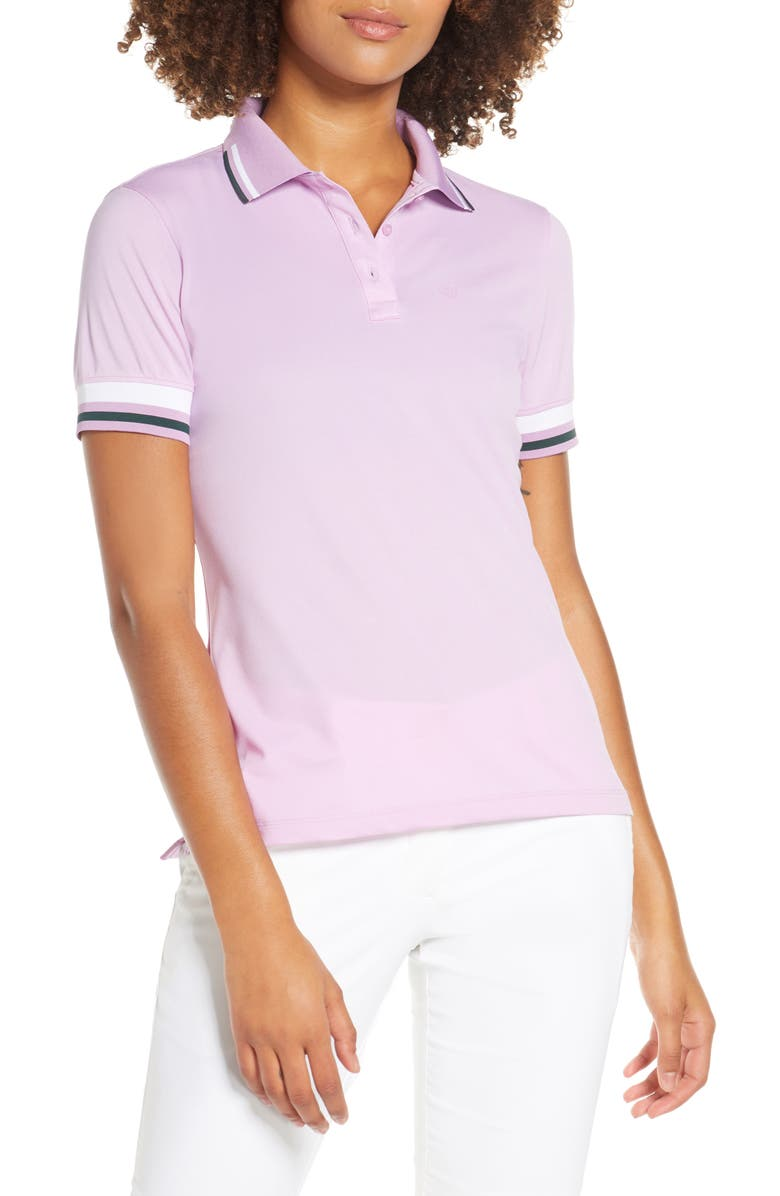 G/FORE Tipped Polo, Main, color, 545