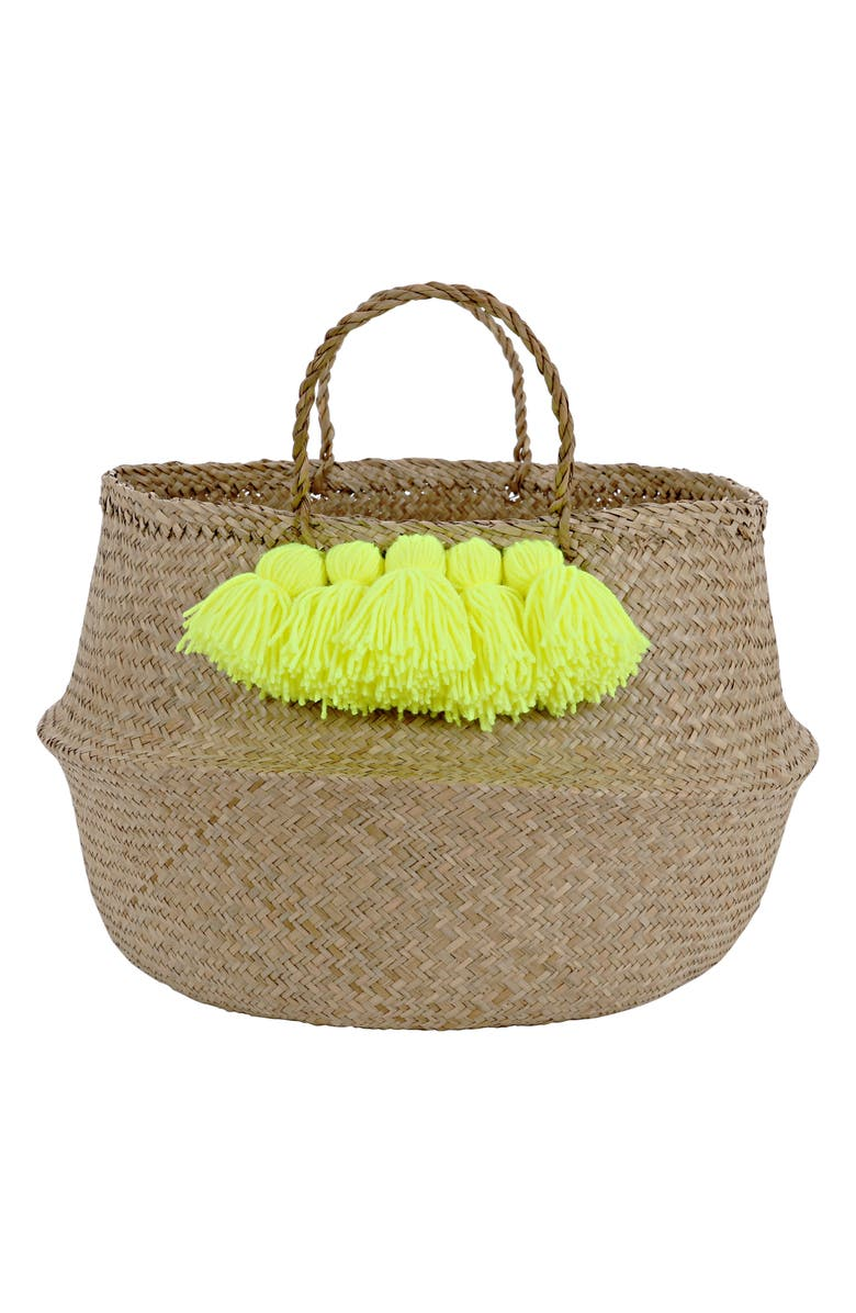 MERI MERI Tassel Basket, Main, color, 700