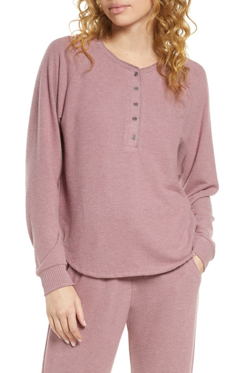 PROJECT SOCIAL T Lounge Henley Top, Main, color, 500