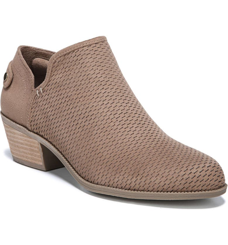 DR. SCHOLL'S Better Bootie, Main, color, BROWN FABRIC